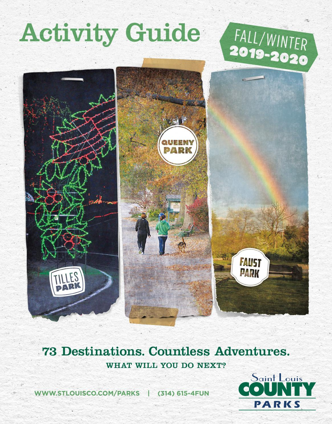 St Louis County Parks Halloween 2020 St. Louis County Parks Fall/Winter 2019 2020 Activity Guide by St