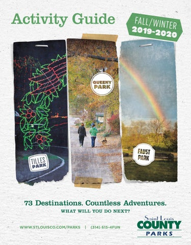 St Louis County Parks Fall Winter 2019 2020 Activity Guide