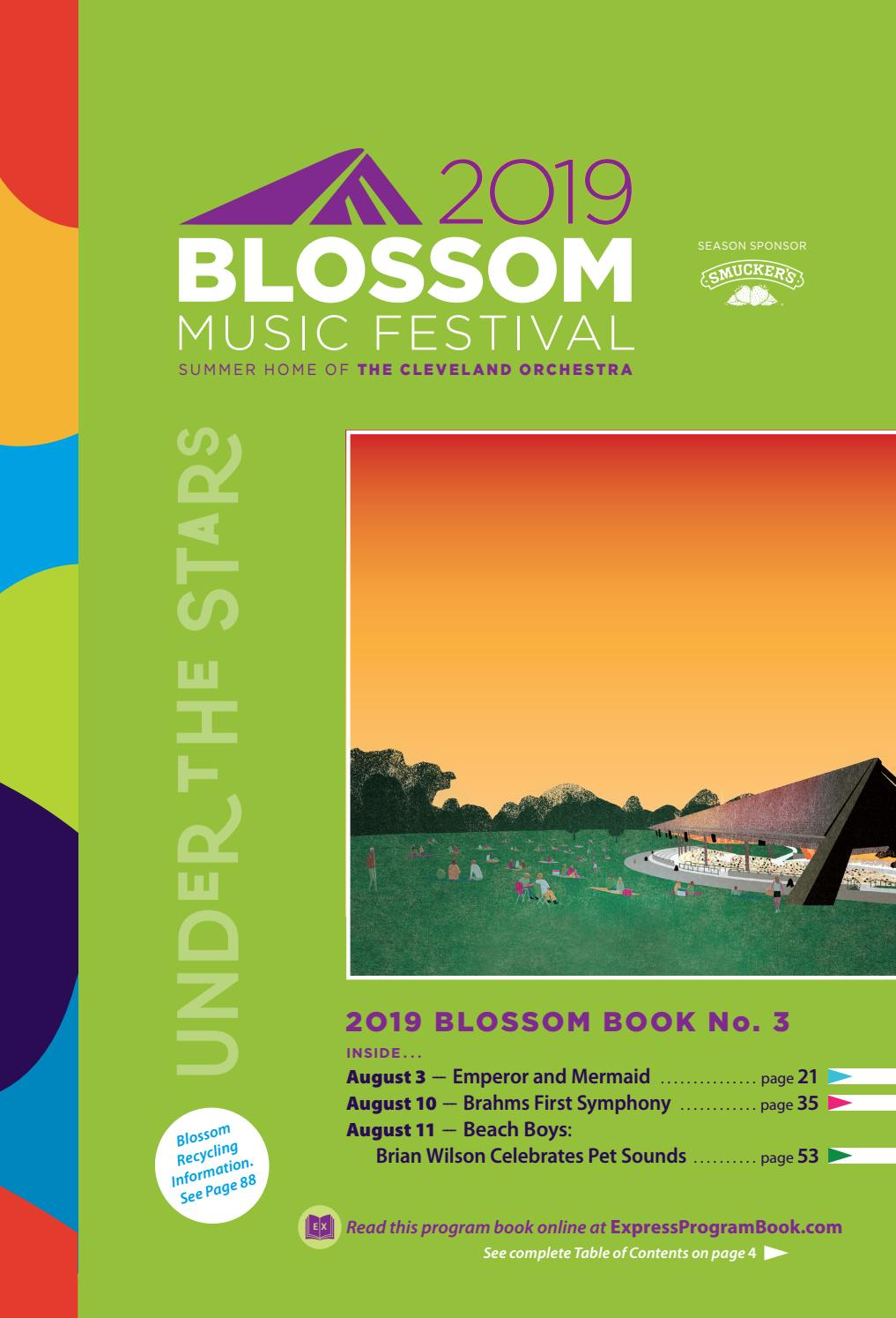 2019 Blossom Music Festival book 3 by Live Publishing - issuu