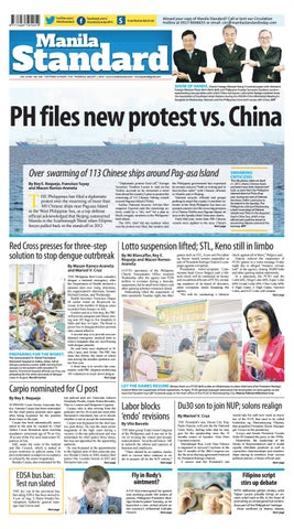 Manila Standard - 2019 August 1 - Thursday by Manila Standard - issuu
