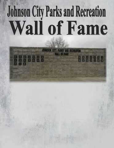 Johnson City Parks and Recreation Wall of Fame by City of