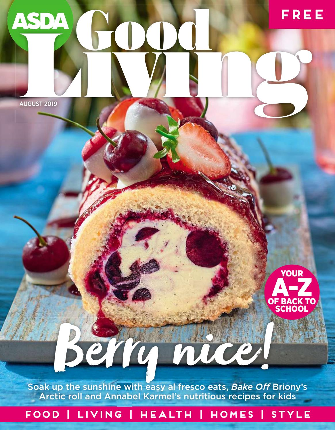Asda Good Living August Magazine 2019 By Asda Issuu