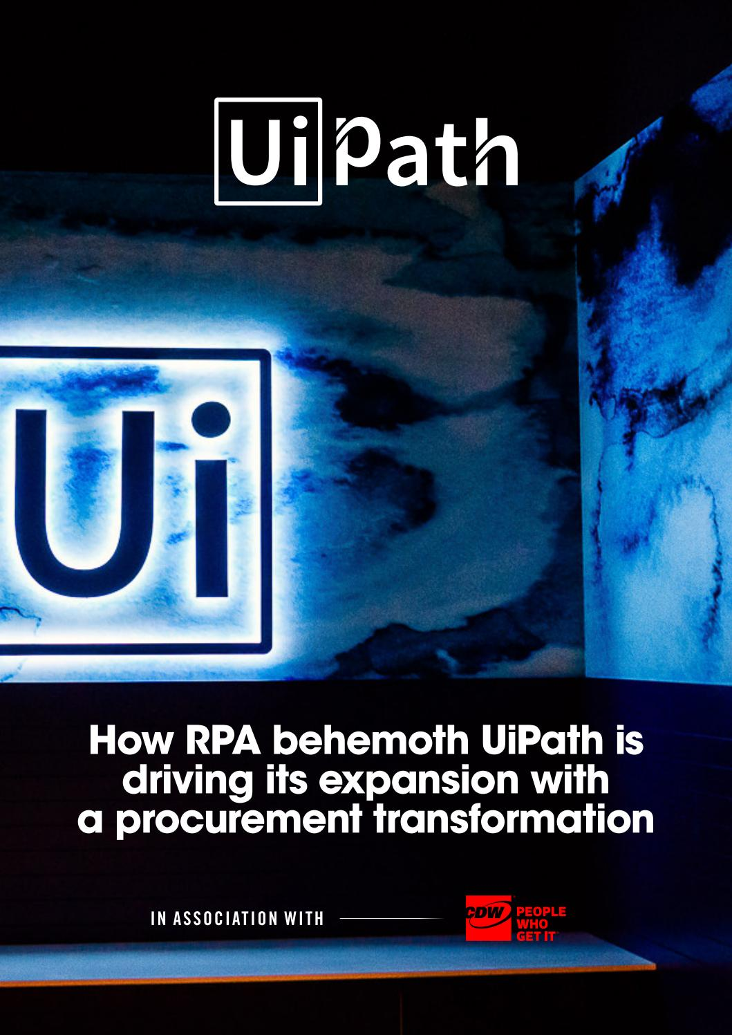 UiPath Brochure 2019 by Supply Chain Digital - issuu