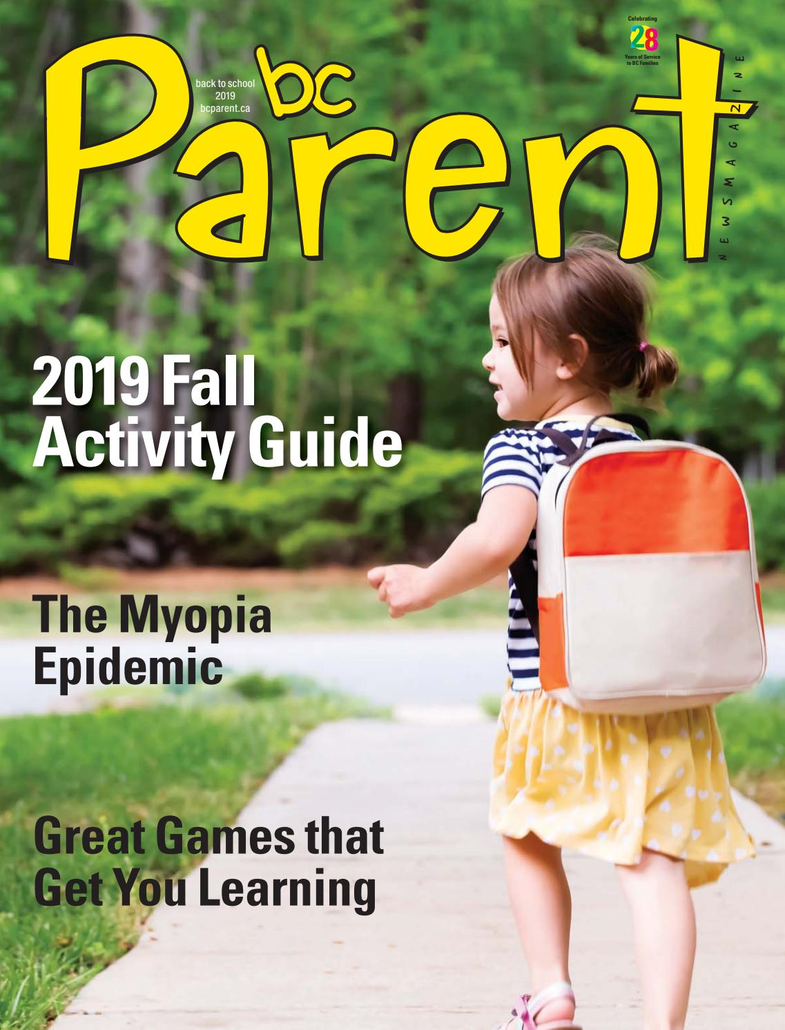 BC Parent Back to School 2019 by BC Parent News Magazine - issuu