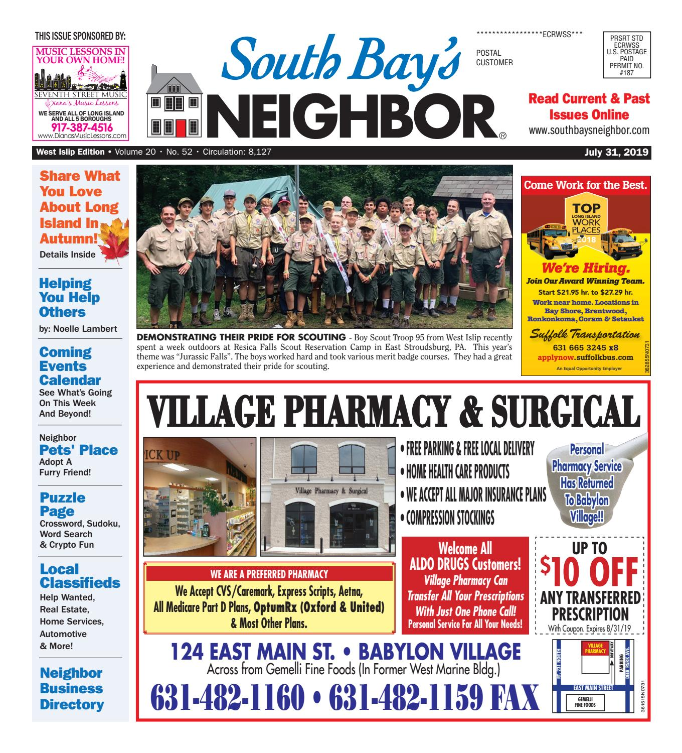 July 31, 2019 West Islip by South Bay's Neighbor Newspapers