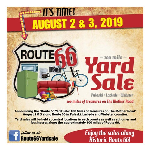 Route 66 100 Mile Yardsale by Weekly Trader - issuu