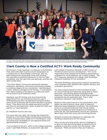 Page 8 of ACT Work Ready Community