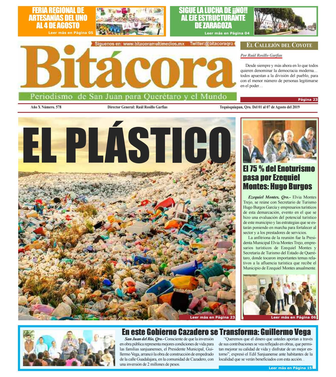 Semanario Bitácora Edición 578 By Raúl Rosillo Garfias Issuu