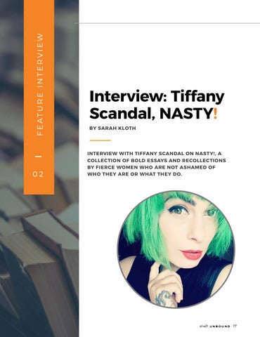 Page 17 of Interview: Tiffany Scandal, NASTY!