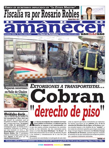 Agosto 1 De 2019 By Diario Amanecer Issuu