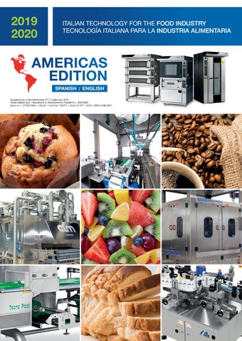 Edition TecnAlimentaria Food Industry 20192020 Americas ZkOuTwiPX