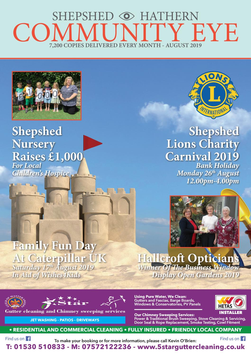 August 2019 - Shepshed & Hathern Community Eye by OpenBox