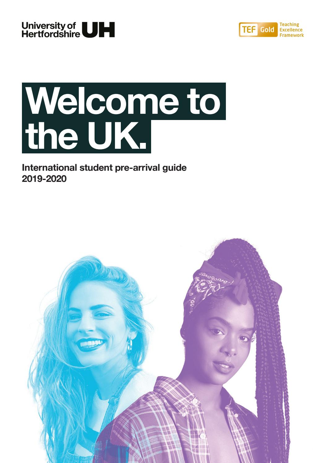 Welcome to the UK guide for international students by
