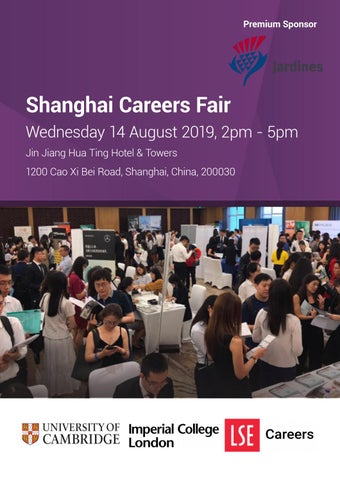 Shanghai Careers Fair 2019 by Imperial College Careers