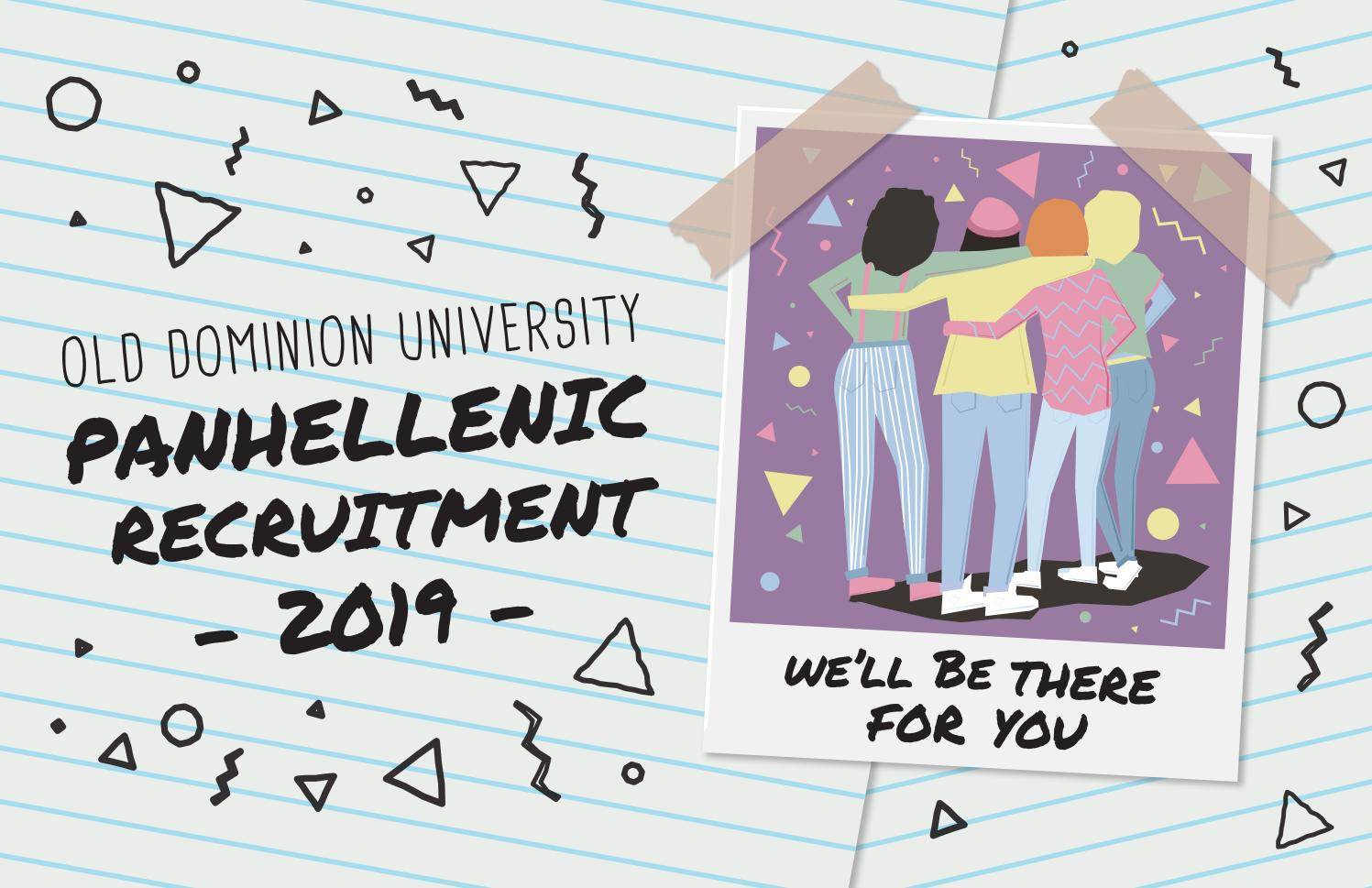 odu panhellenic sorority recruitment 2019 by oduphc