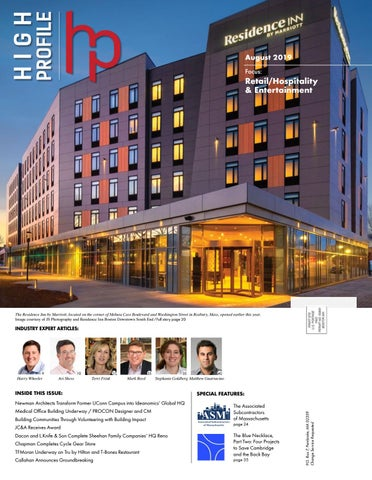 Page 1 of High-Profile August 2019: Retail/Hospitality & Entertainment Issue