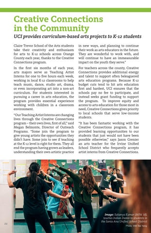 Page 22 of Creative Connections in the Community