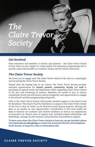 Page 38 of Claire Trevor Society