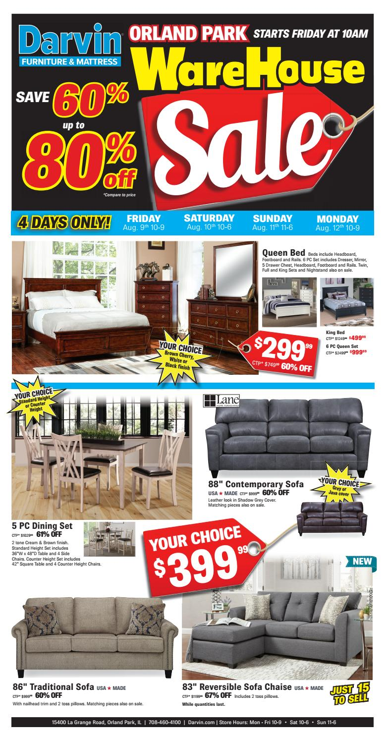 Darvin Warehouse Sale In Orland Park By Furniture Mattress Issuu