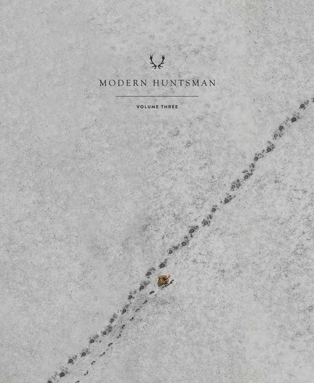 Modern Huntsman Volume Three: Wildlife Management by Modern