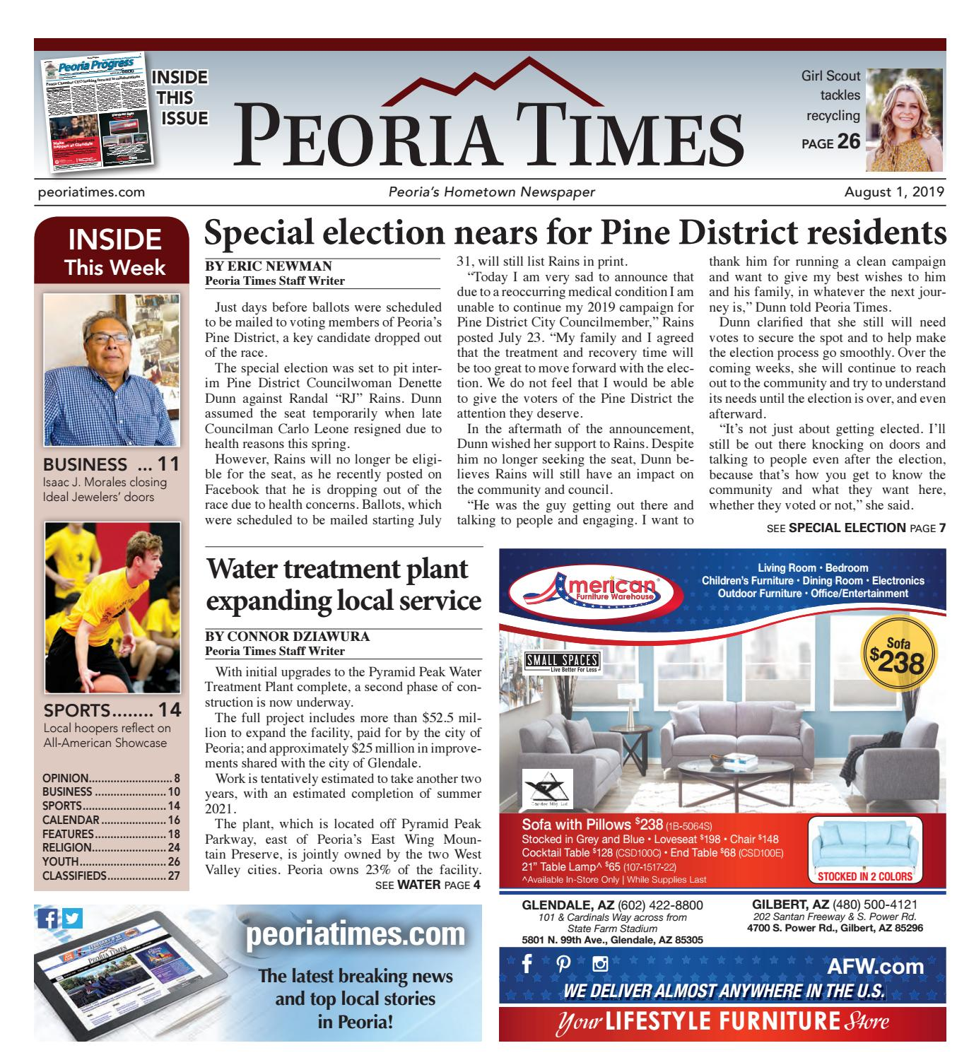 Peoria Times 08-01-2019 by Times Media Group - issuu