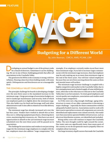 Page 12 of Budgeting for a Different World