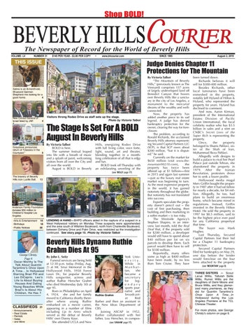 BH Courier E Edition 080219 By The Beverly Hills Courier Issuu