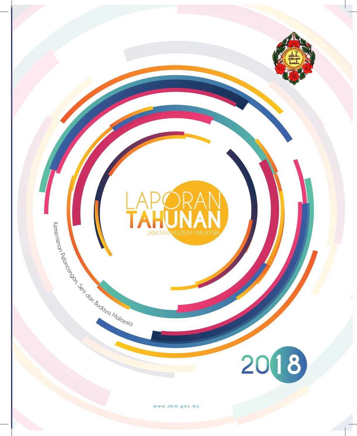Laporan Tahunan Jabatan Muzium Malaysia 2018 By Web JMM Issuu