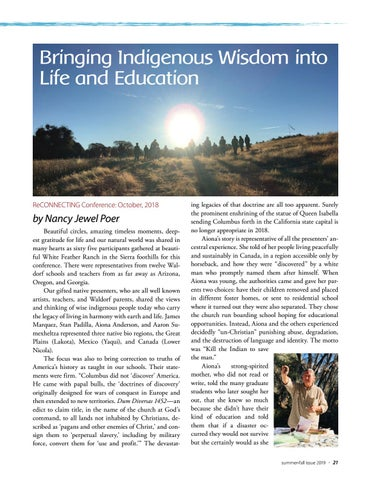 Page 21 of Bringing Indigenous Wisdom into Life and Education