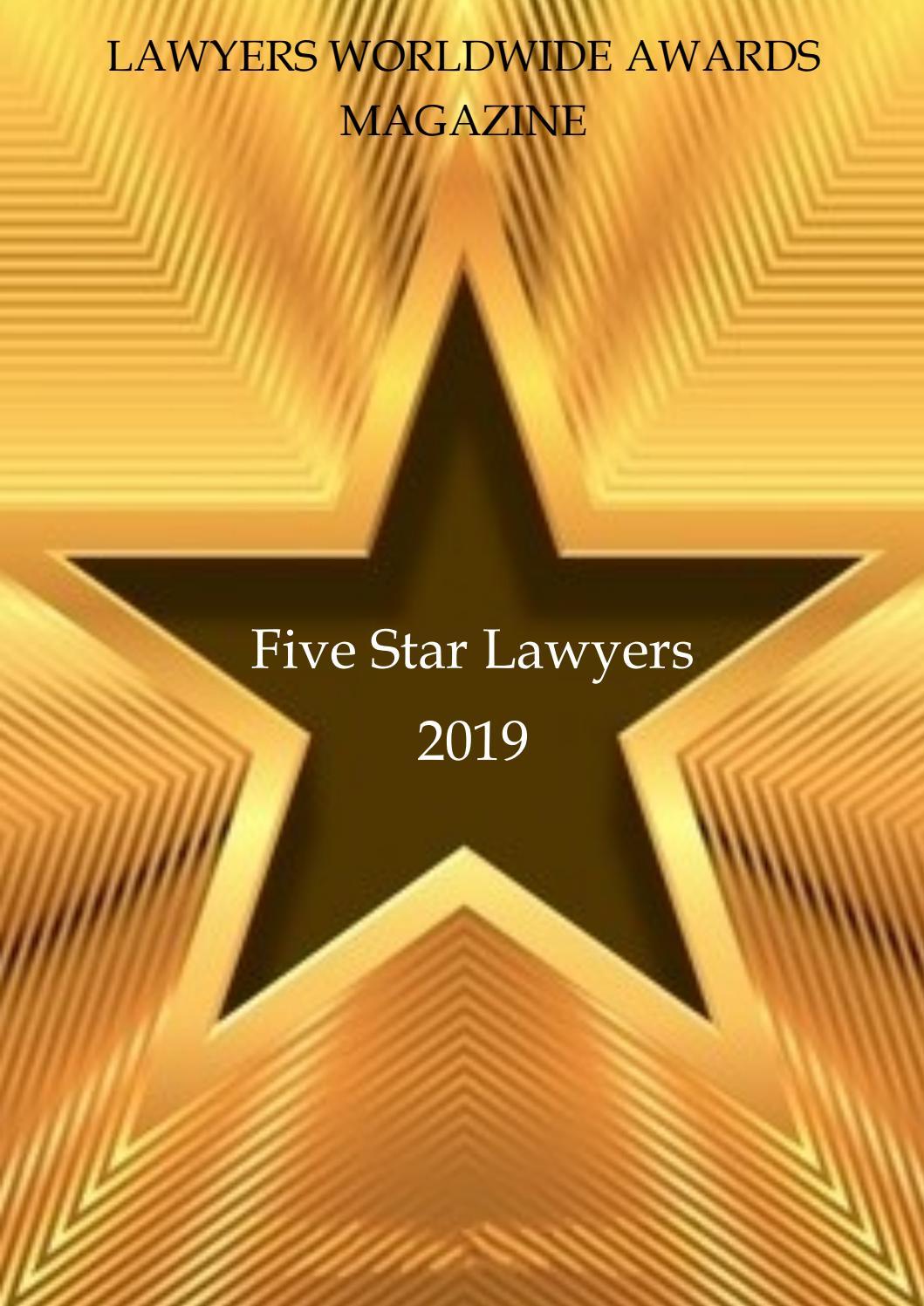 5 star lawyers magazine by Productive Media - issuu