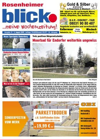 Rosenheimer blick Ausgabe 31 | 2019 by Blickpunkt Verlag
