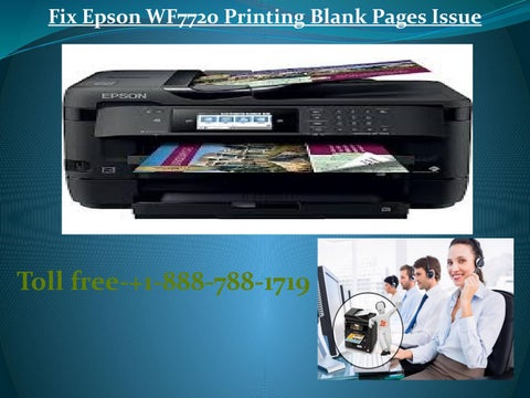 How to Fix Epson WF 7720 Printing Blank Pages by Archer