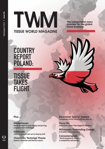 Tissue World Magazine July/August 2019 by Tissue World