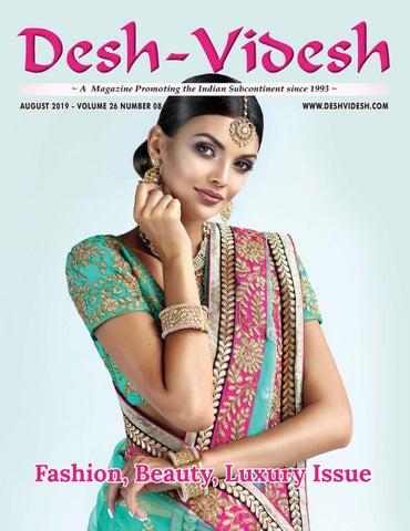 Desh Videsh Magazine Fashion, Beauty, Luxury Issue by Desh