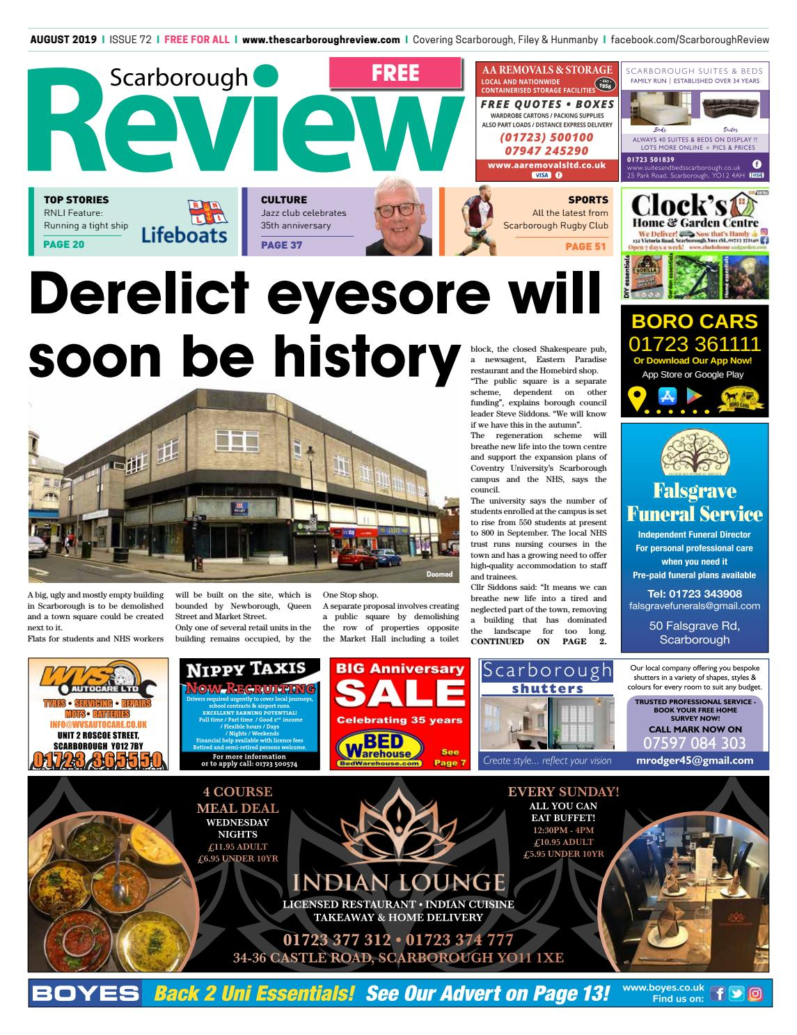 Scarborough Review August 2019 By Your Local Link Ltd Issuu