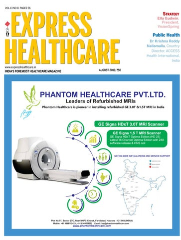 Express Healthcare (Vol 13, No 8) August, 2019 by Indian