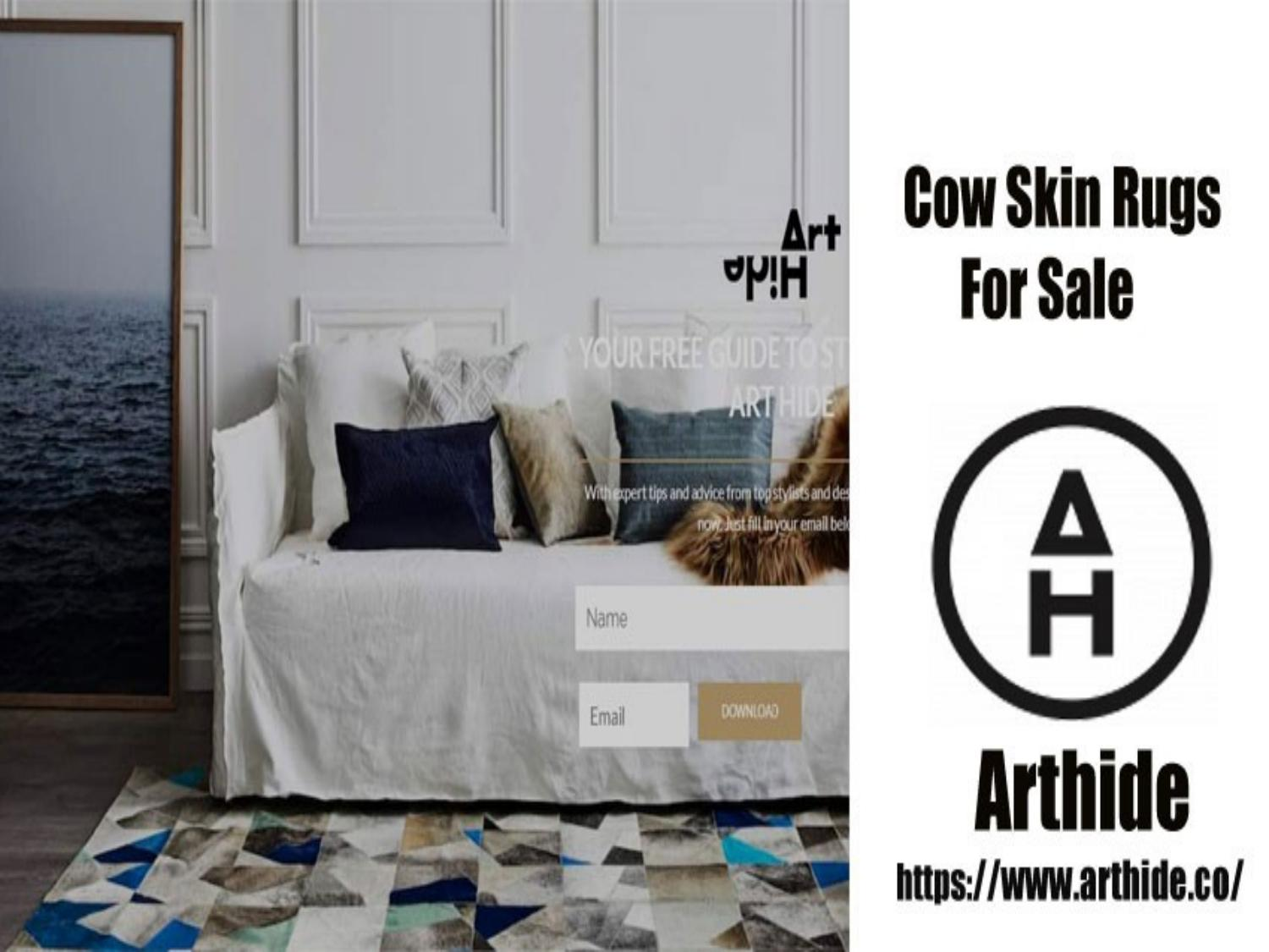 Cowhide Rugs Online By Kura Perkins Issuu