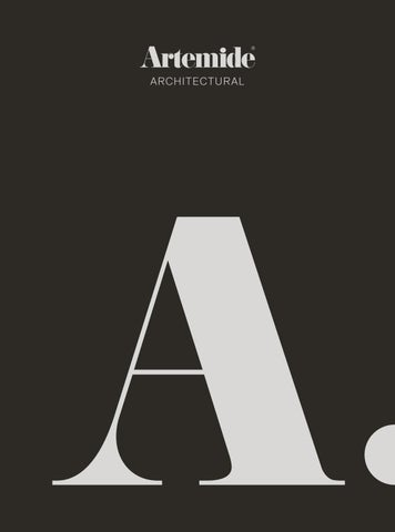 Architectural Catalogue 2019_EN by Artemide - issuu