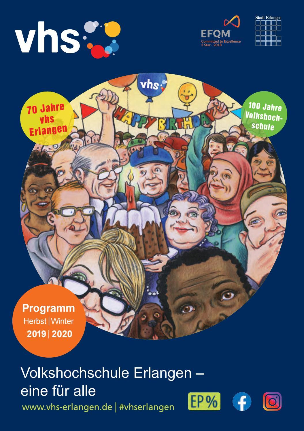 Programm Vhs Erlangen Winter 201920 By Volkshochschule