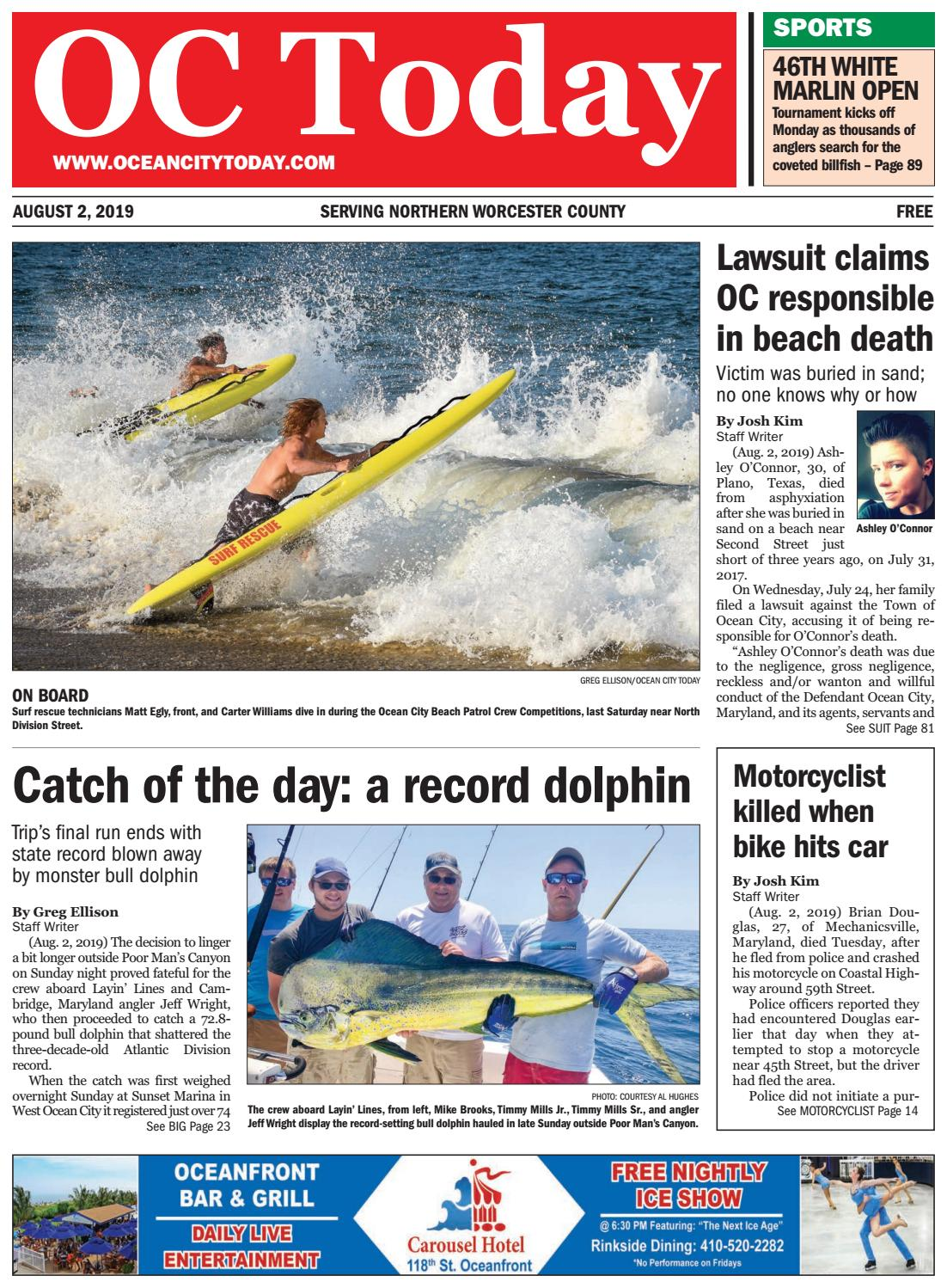 8/2/19 Ocean City Today by ocean city today - issuu