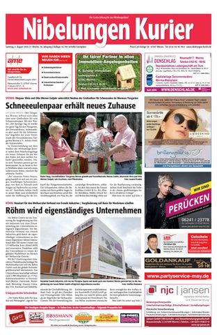 Samstag, 3  August 2019, 31  Woche by Nibelungen Kurier - issuu