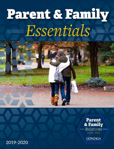 Gonzaga University Parent & Family Essentials 2019-2020 by