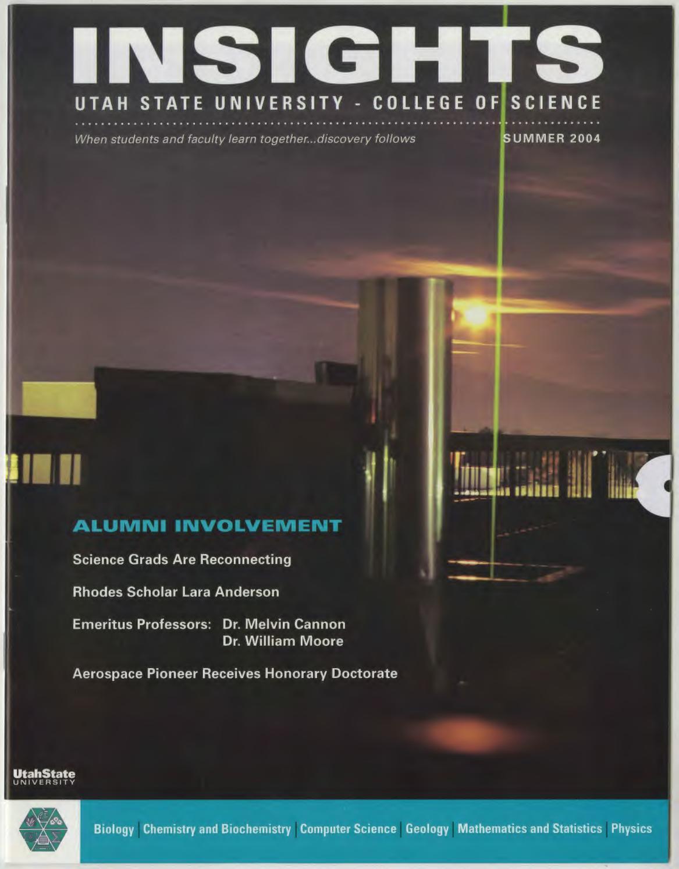 Insights, Summer, 2004 by USU Digital Commons - issuu