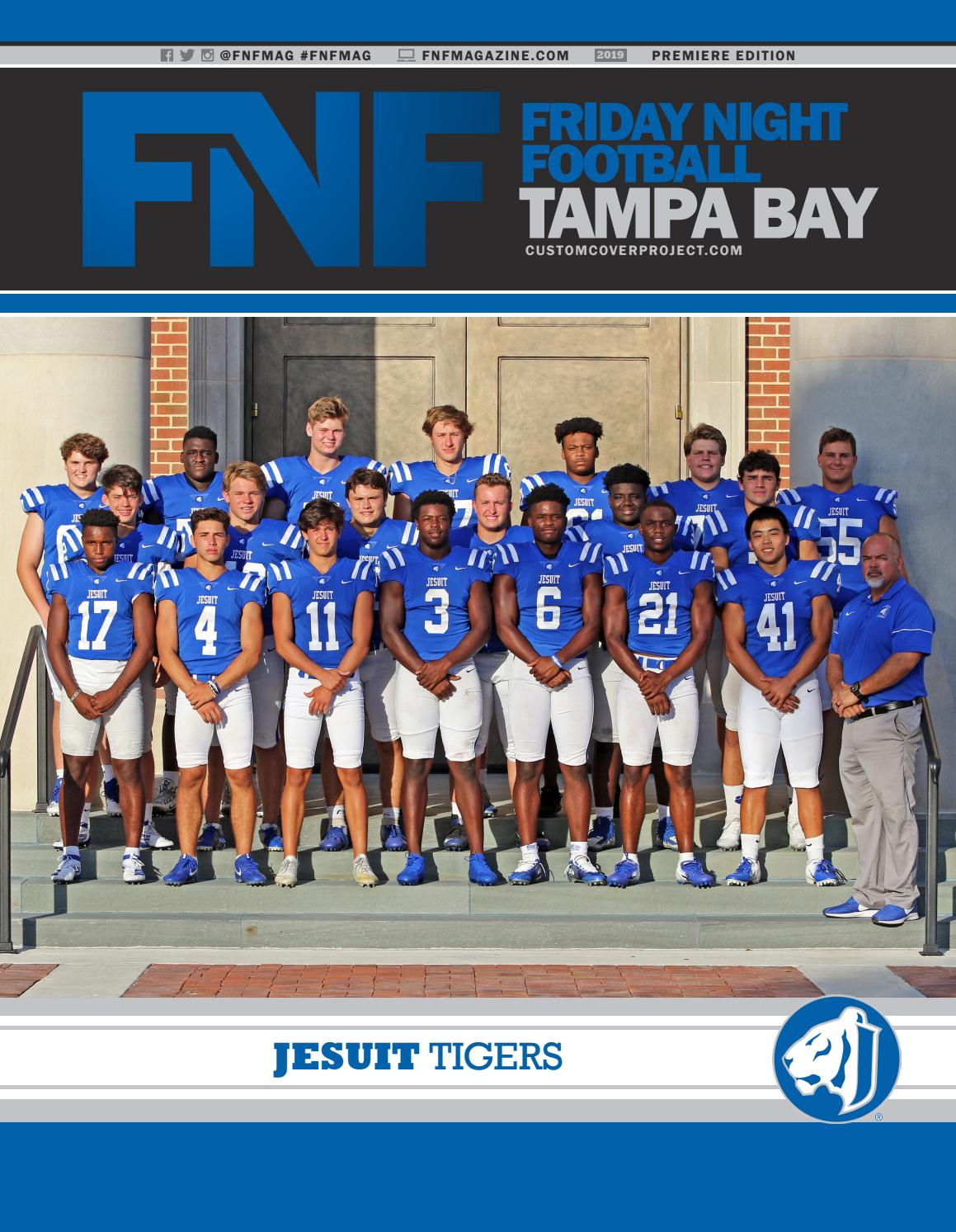 f75f7a5f FNF Tampa Bay Custom Cover Project 2019 Jesuit Tigers by A.E. Engine ...