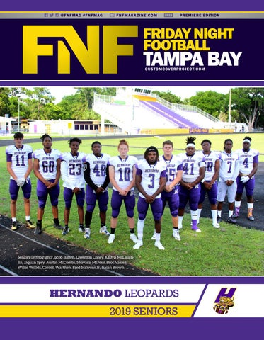 b16557f8 FNF Tampa Bay Custom Cover Project 2019 Hernando Leopards by A.E. ...