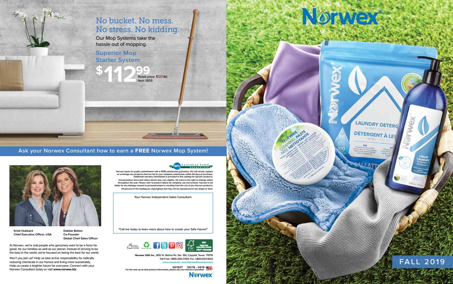 Norwex Fall 2019 Catalog By Michelle Coggins Issuu