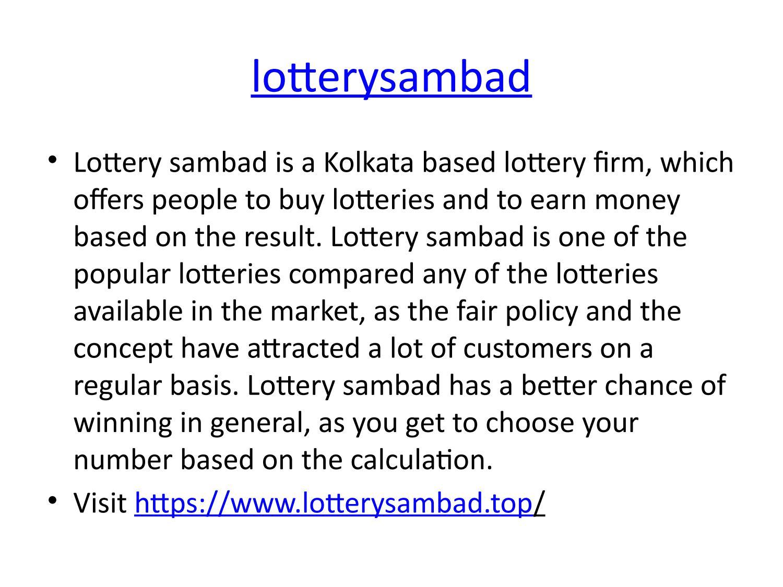 goa state lottery by Amarjeet Prasad - issuu