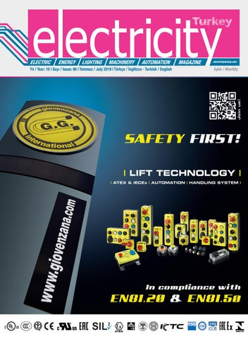 Electricity Turkey Magazine Temmuz 2019 by Electricity