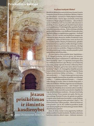 Page 6 of Jėzaus prisikėlimas ir išmintis kasdienybei