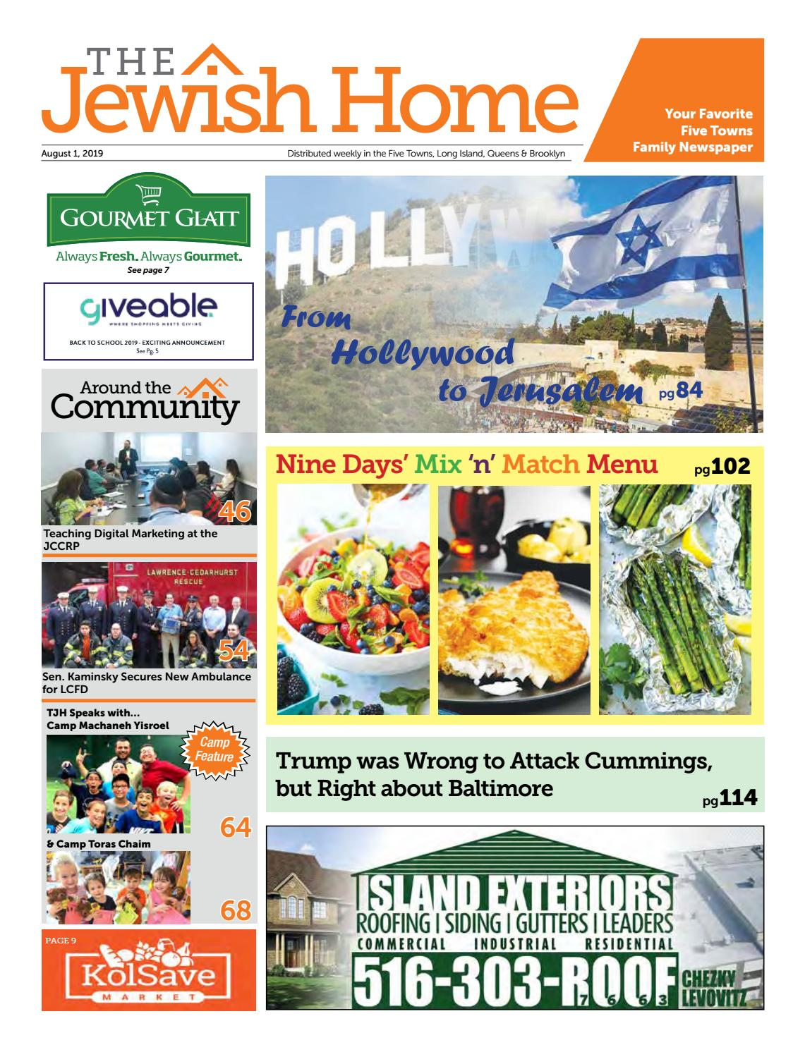 Five Towns Jewish Home - 8-1-19 by Yitzy Halpern - issuu